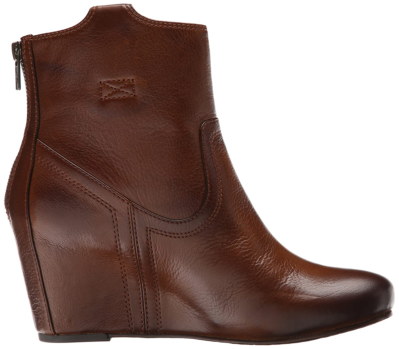 FRYE Women's Carson Wedge Bootie B00SSQJI92 9 B(M) US|Cognac