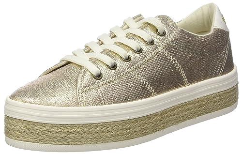 No Name Malibu Sneaker iRun, Zapatillas para Mujer, Rosa (Gold 74),
