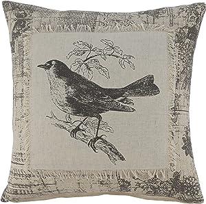 Signature Design by Ashley Monissa Throw Pillow, Cream/Black