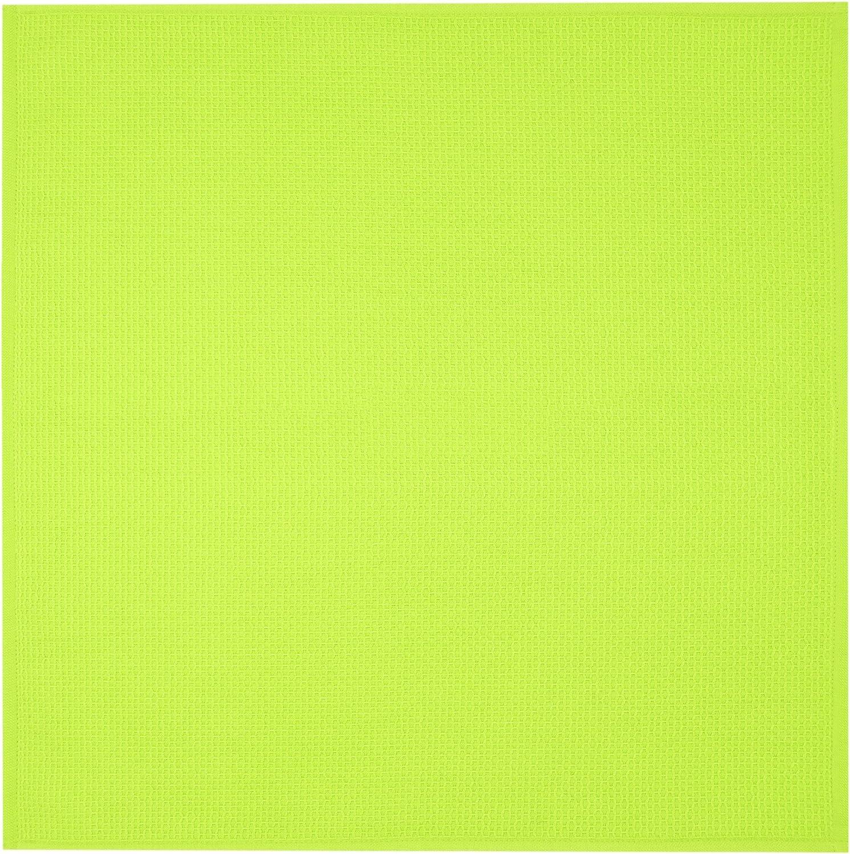 en bonitos colores de moda de 100/% algod/ón 50 x 50 cm gris grafito Lashuma Juego de 4 pa/ños de cocina de piqu/é
