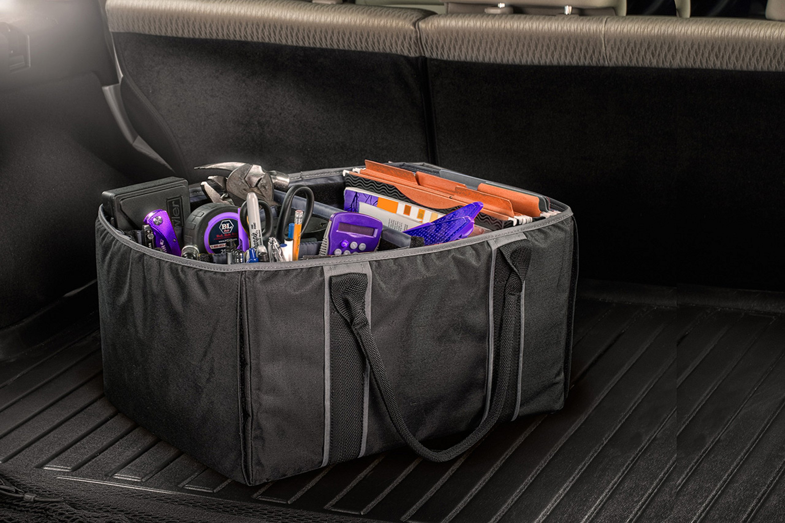 AutoExec AETote-09 Black/Grey File Tote with One Cooler and One Tablet Case by AutoExec (Image #14)