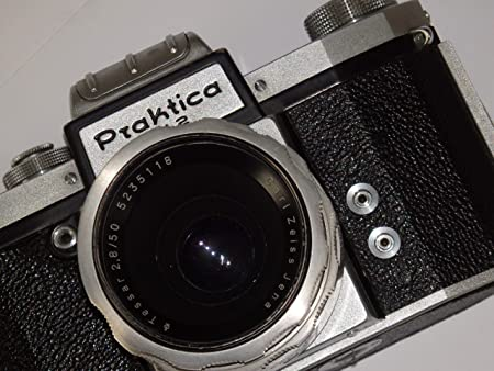 Praktica FX2 FX 2 Incluye Objetivo Carl Zeiss Jena Tessar 2.8/50 ...