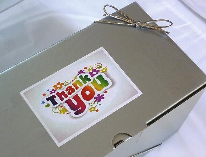 GRACIAS grande retro dulces caja cesta - llena de los mejores dulces retro - E...: Amazon.es: Alimentación y bebidas