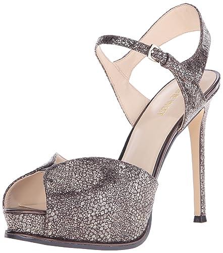 edcd5f8e5baa Nine West Women s Cruzeto Metallic Heeled Sandal