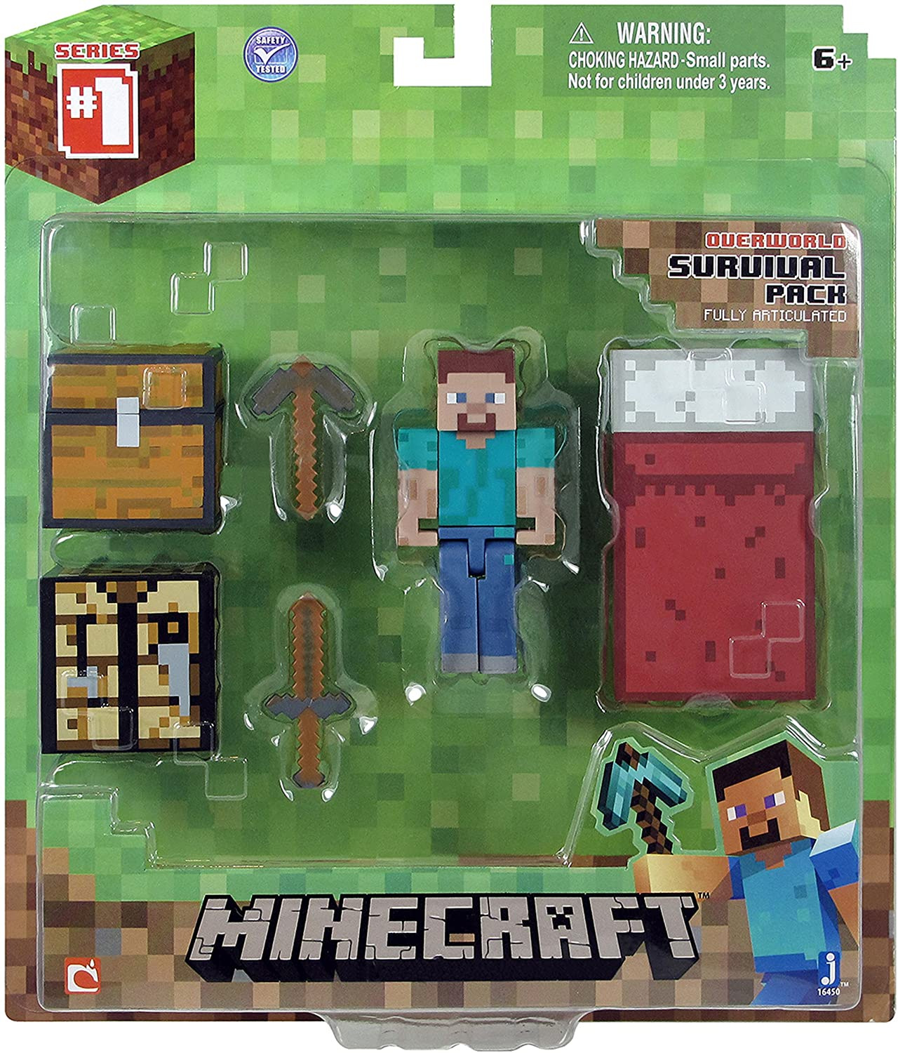 Amazon.com: Pack de figura de acción de Minecraft ...