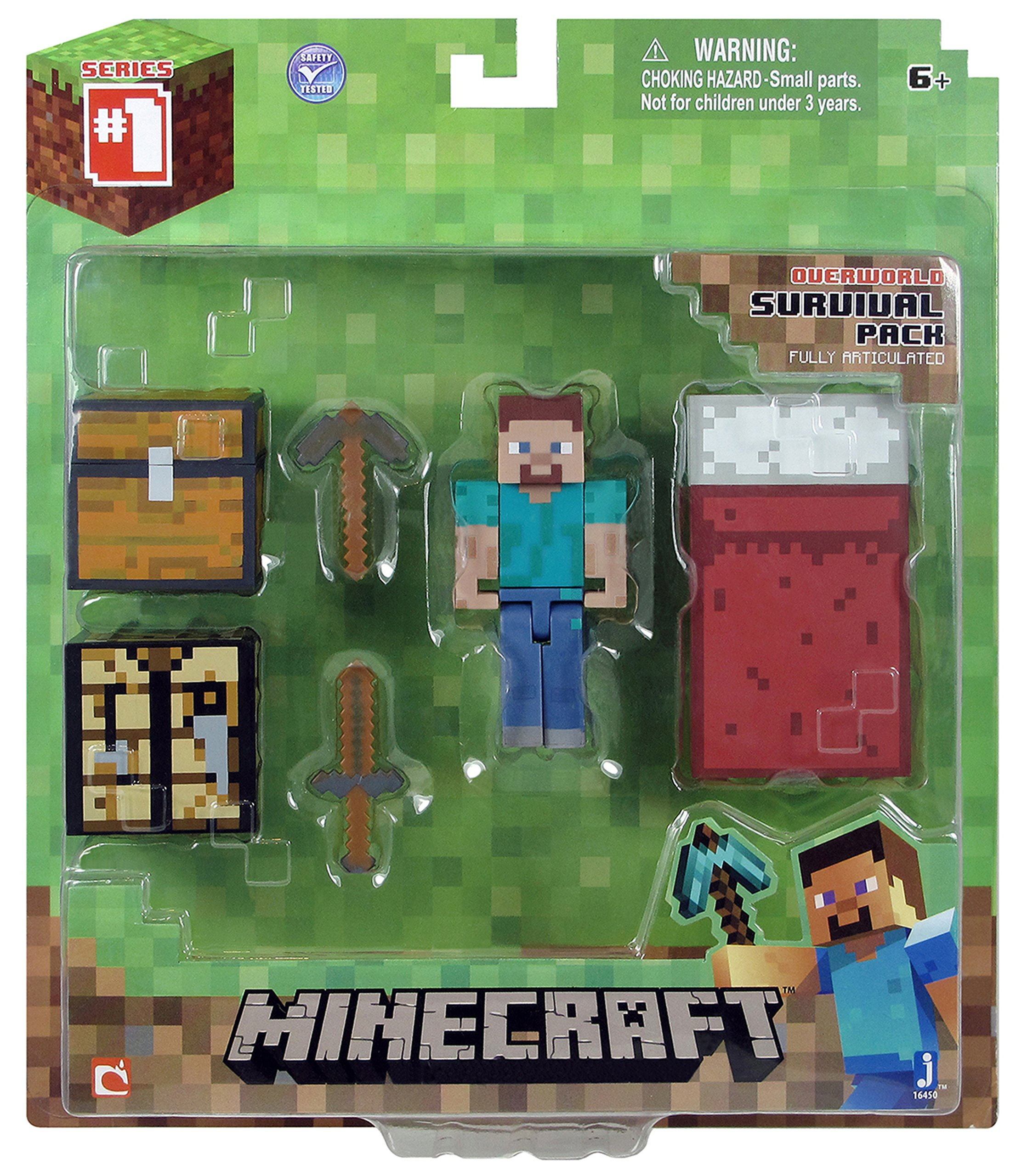 Minecraft Core Player Survival Pack Action Figure by Minecraft (Image #2)