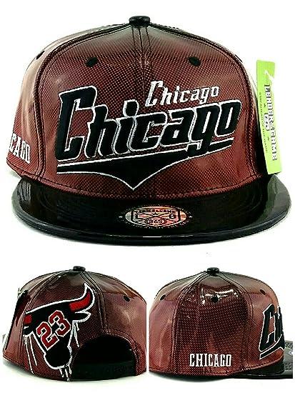 Amazon.com   Chicago New Patent Shadow 23 Leather Bulls Colors Black ... fd15f56e860