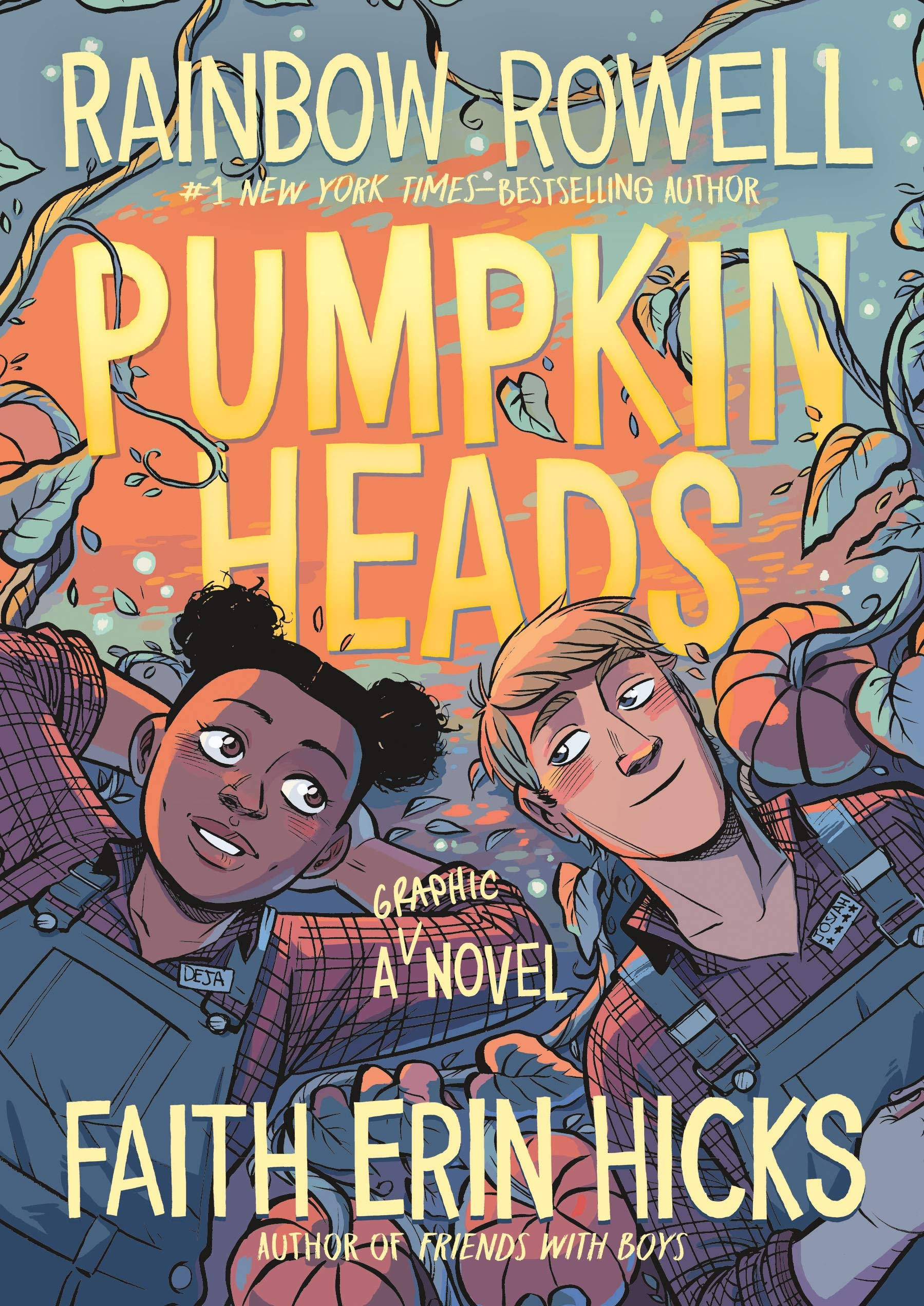Amazon.com: Pumpkinheads (9781626721623): Rowell, Rainbow, Hicks ...