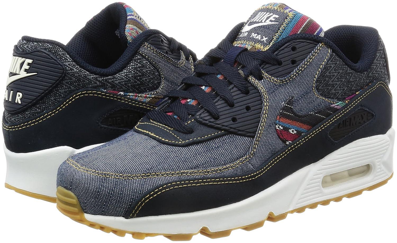 Mens Chaussures De Sport Nike Air Max 90 Canapé Denim Bleu 2xVQtNxi