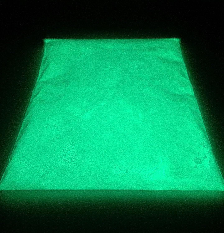 500 g Glow polvere, Eli-Glow fotoluminescente pigmenti in polvere, colore: verde, di stronzio Super Aluminate (più grande misura su Amazon).