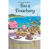 Tea & Treachery (Tea by the Sea Mysteries Book 1)