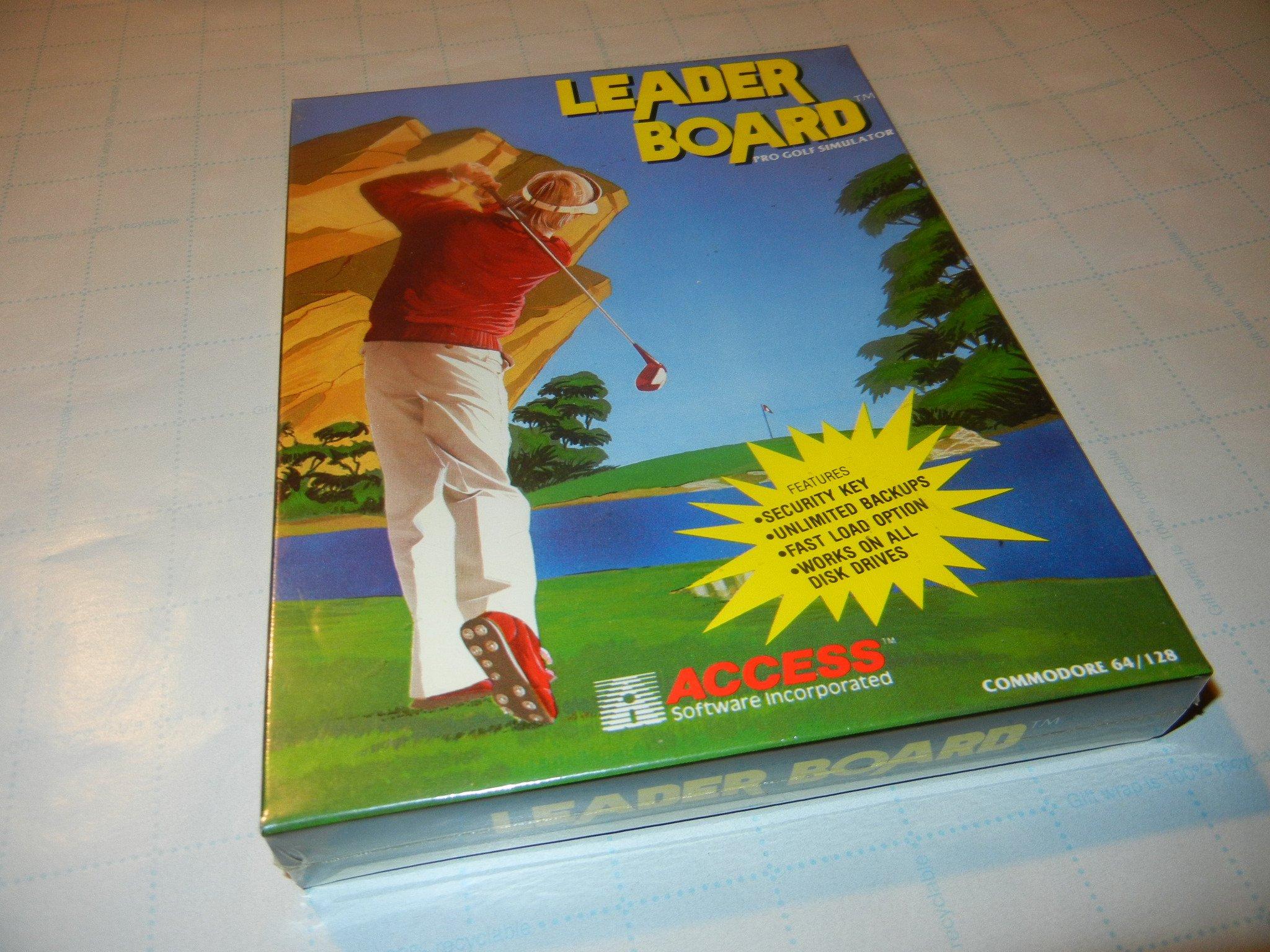 Leaderboard Golf - Commodore 64