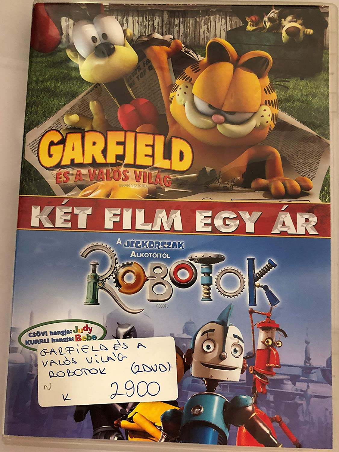 Amazon Com Garfield Gets Real Robots Frank Welker Gregg Berger Jennifer Darling Halle Berry Greg Kinnear Robin Williams Amanda Bynes Mark A Z Dippe Kyung Ho Lee Chris Wedge Movies Tv