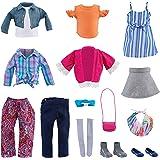 "Journey Girls 18"" Doll Super Fashion Fun Set (Amazon Exclusive Mailer)"