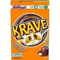 Kellogg's Krave Choco Nut Cereales - 375 g
