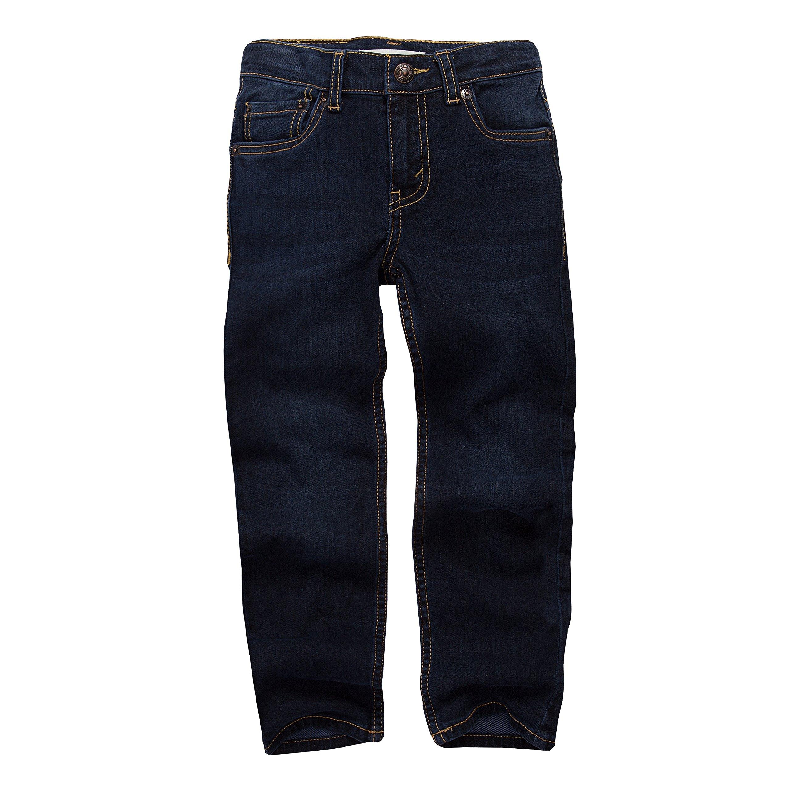 Levi's Boys' Little 510 Skinny Fit Jeans, Big Sur, 7X
