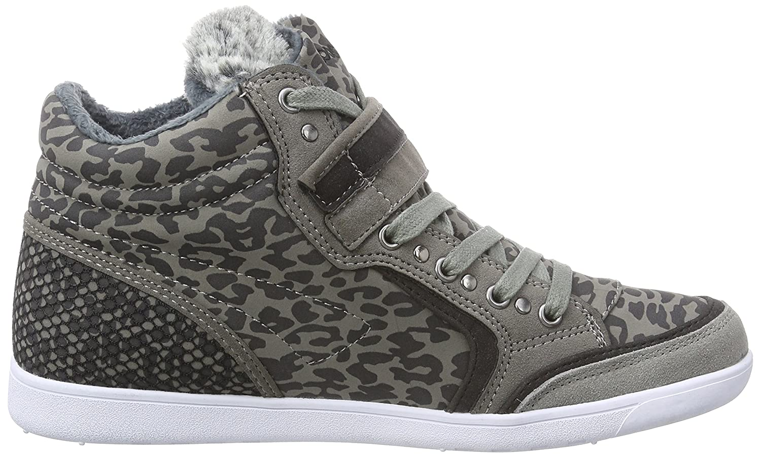 Amazon.com | KangaROOS Womens K-Basket 5005C High-top Trainers Gray Size: 5 | Fashion Sneakers