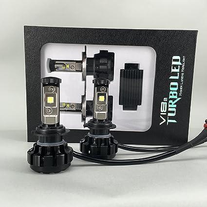 Todas las estaciones LED V18 CREE XHP-50 LED Faros Kit 80 W & 9600lm