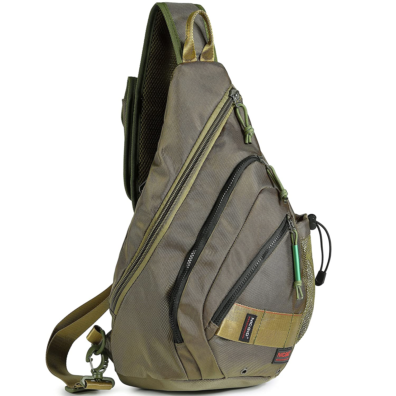 Practical Women Men Single Shoulder Messenger Chest Bag Outdoor Travel Military Cross Body Bags Sling Rucksack Back Pack Climbing Bags
