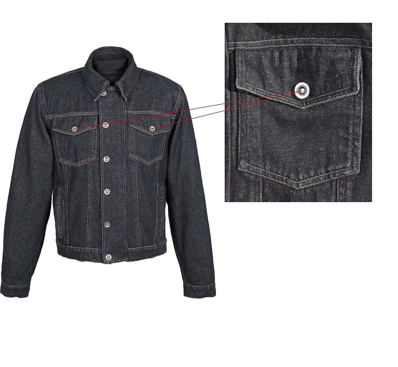Roleff Racewear Veste de moto Aramide Jeans Bleu Taille L