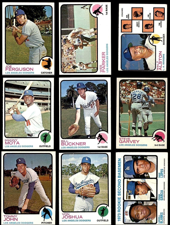 1973 Topps Los Angeles Dodgers Team Set Los Angeles Dodgers (Baseball Set) Dean's Cards 6 - EX/MT Dodgers 91CZPJWrsKLSL1500_