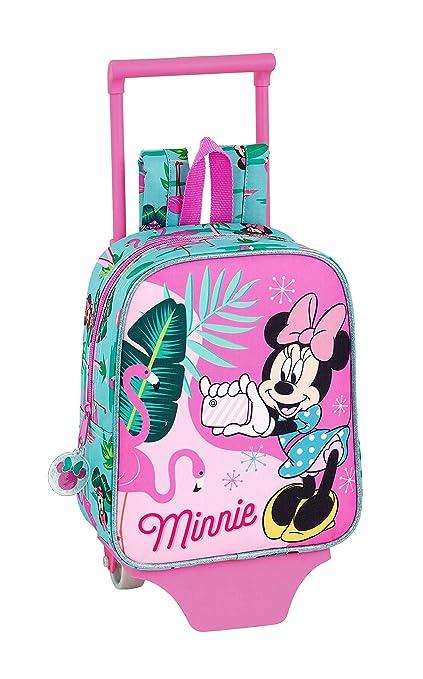 """fe63c1beda Minnie Mouse""""Palms"""" Ufficiale zaino Scuola materna con carrello  safta, ..."""