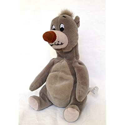 "Disney ""Jungle Book"" Baloo 8"" Plush Bean Bag: Toys & Games"