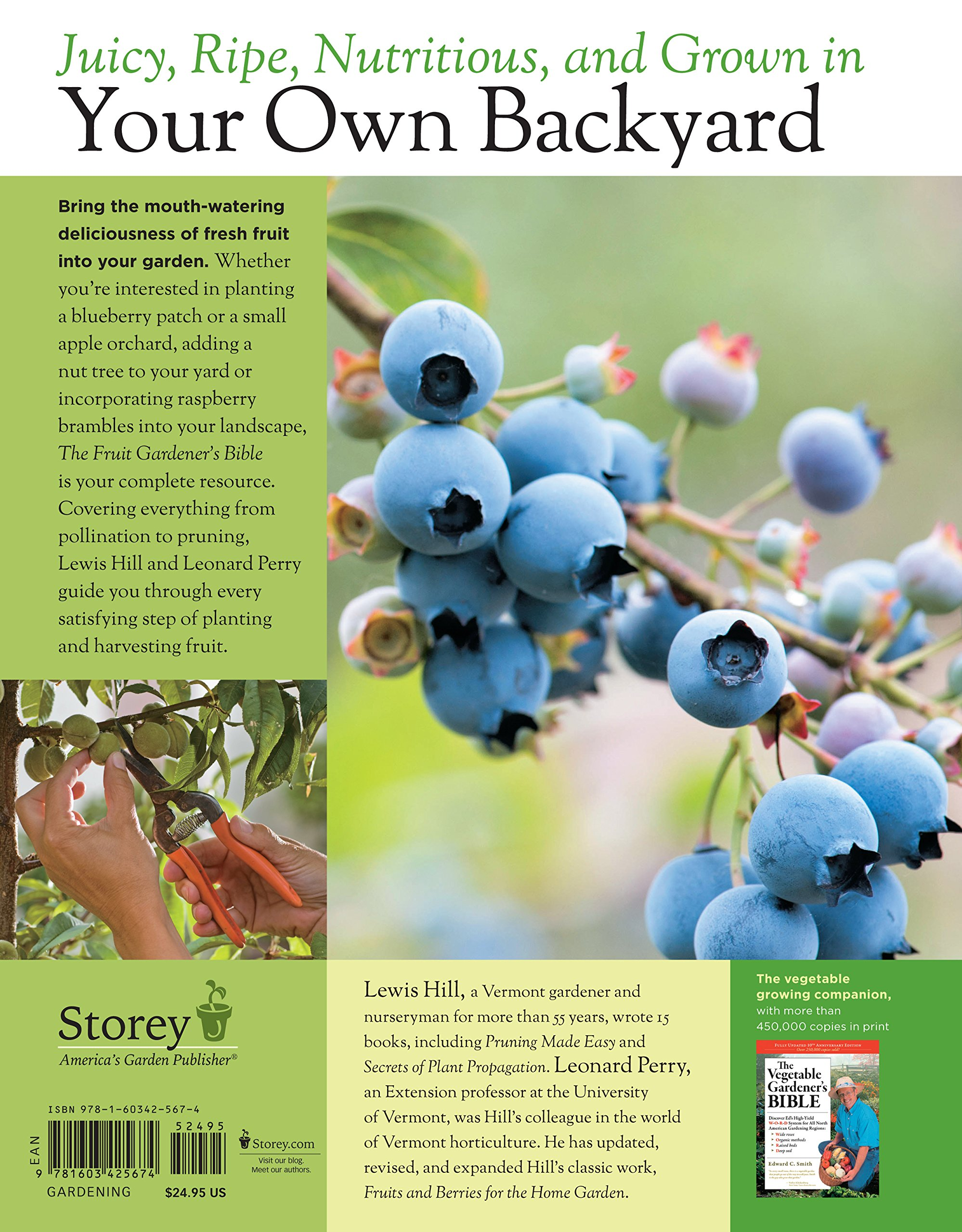 the fruit gardener u0027s bible a complete guide to growing fruits and