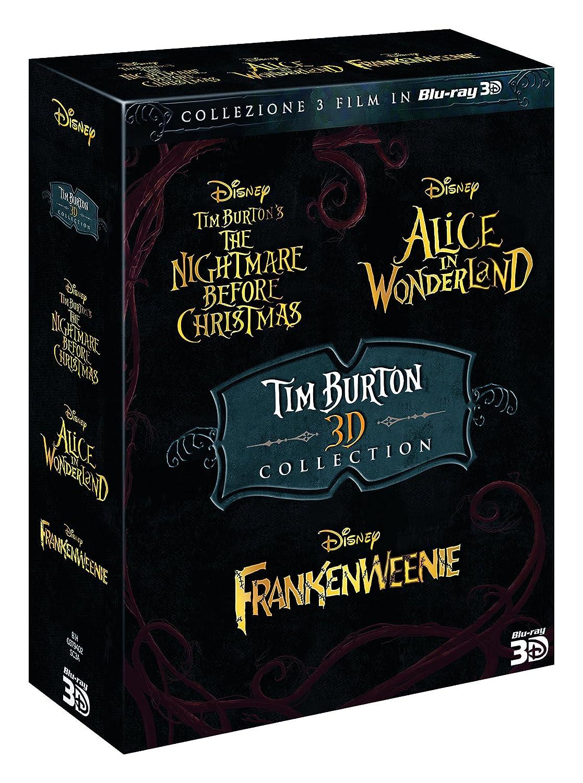 Tim Burton 3D Collection 3 Blu-Ray+3 Blu-Ray 3D Italia Blu-ray: Amazon.es: Leo Bill, Helena Bonham Carter, Tim Burton, Johnny Depp, Danny Elfman, Crispin Glover, Anne Hathaway, Matt Lucas, Mia Wasikowska, Tim Burton,