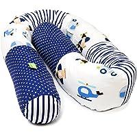 LULANDO Nestorm sängorm orm sängrulle 190 cm för spjälsäng, vagga eller husvagn. Med många barnvänliga motiv. Standard…