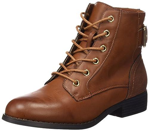 44eced4c Xti Botin Sra. C. 46189 - Botas cortas para mujer, color Marrón (Camel),  talla 35 EU: Amazon.es: Zapatos y complementos