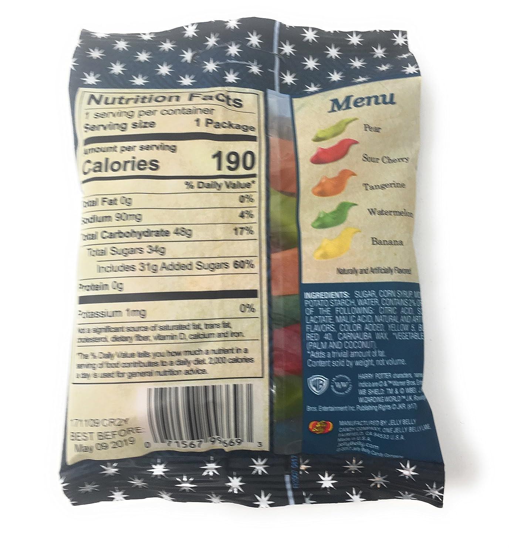 new styles 087e2 a937a Amazon.com  Jelly Belly Harry Potter Jelly Slugs Gummi Candy Slugs - 4  Packs  Grocery  Gourmet Food
