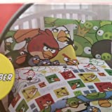 Angry Birds Cubes Twin Size Sheet Set