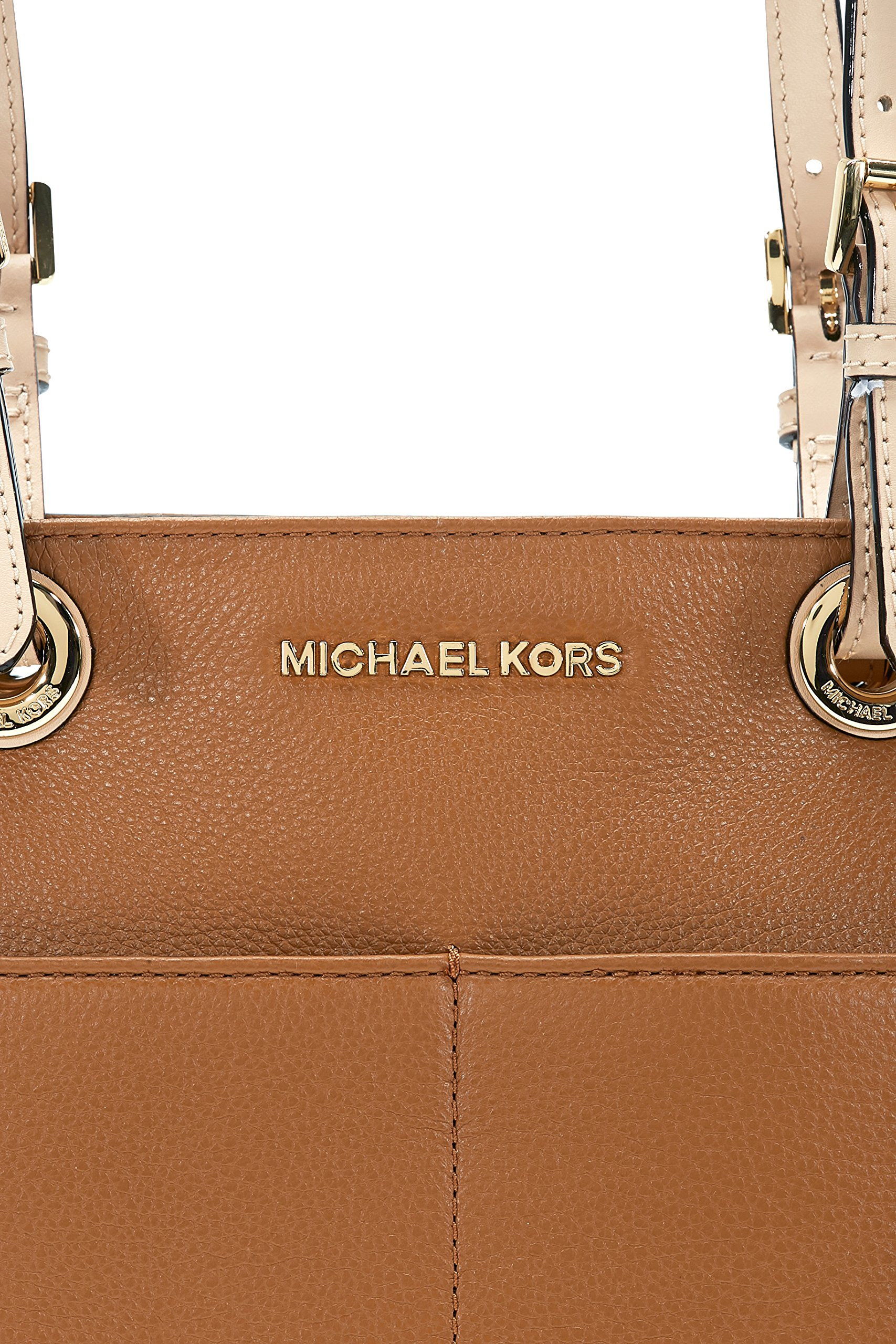 Michael Kors Bedford Leather Tote - Acorn by Michael Kors (Image #4)