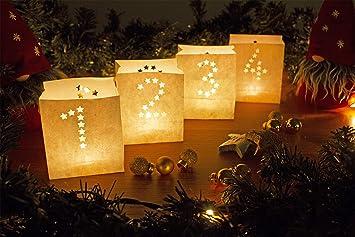 Baren Bande Lichttuten 1 4 Advent Mit Teelichten Amazon De Kuche