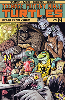 Amazon.com: Teenage Mutant Ninja Turtles Vol. 12: Vengeance ...