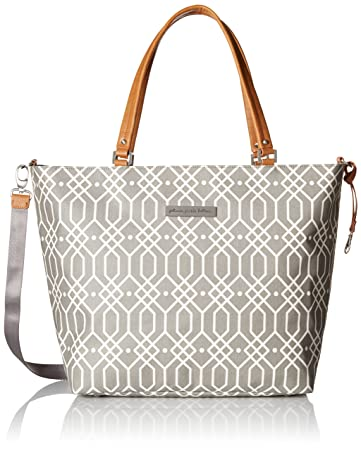 59a59c64dc Amazon.com   Petunia Pickle Bottom Altogether Tote Diaper Bag in Quartz  Grey   Baby