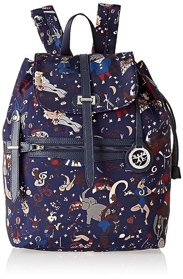 49caf4d8eb Amazon.com: Piero Guidi 215643088, Women's Backpack Handbag, Blue (Blu),  26x35.5x15 cm (W x H L): Shoes