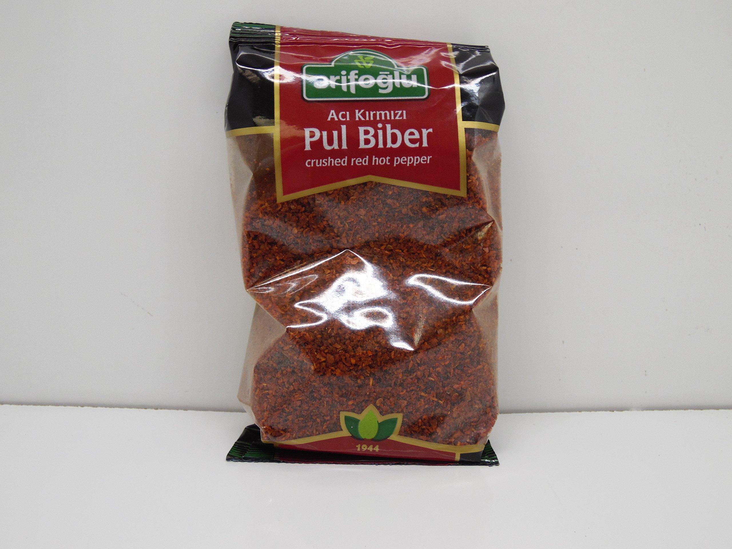 Arifoglu Pul Biber Natural Crushed Red Hot Pepper 200g - 7.05 Oz