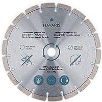 Navaris diamantsnijschijf Diamantsnijschijf - 1x flexschijf voor haakse slijper - 230mm diamantschijf voor tegels…