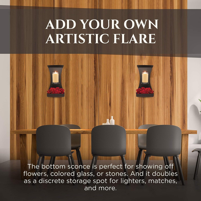 Modern Minimalistic Candle Sconce Lumera Lights