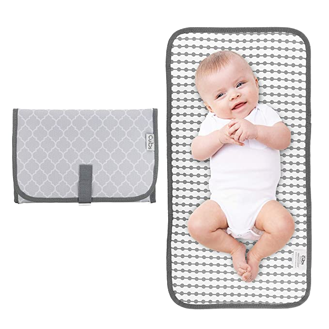 60 Portable Changing Mats 2 Pack Waterproof Diaper Changing Pads Premium Cotton Reusable Baby Infant Change Pads Cover Large 29in 75cm// 23