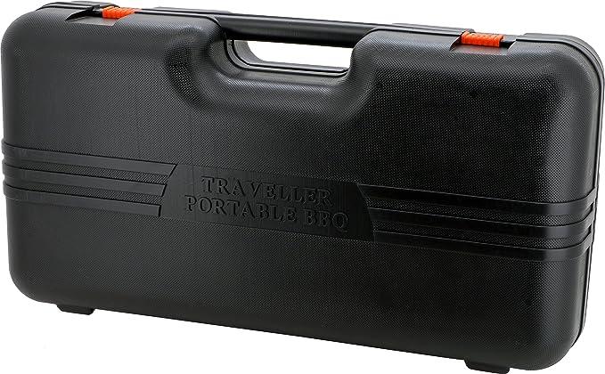 Orework 356777 Cocina Portátil A Gas Doble, Naranja