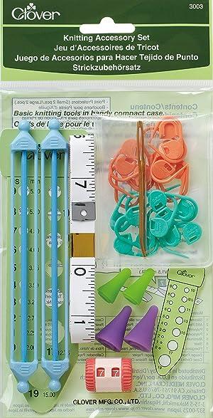CLOVER Knit Mate Knitting Accessories Set