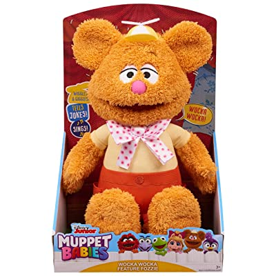 Muppets Babies Wocka Wocka Feature Fozzie Plush: Toys & Games