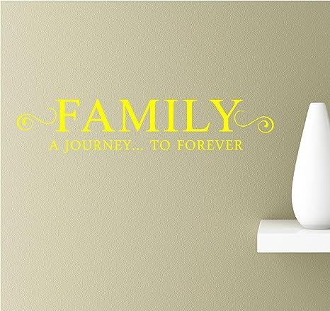 com family a journey to forever inspirational wall