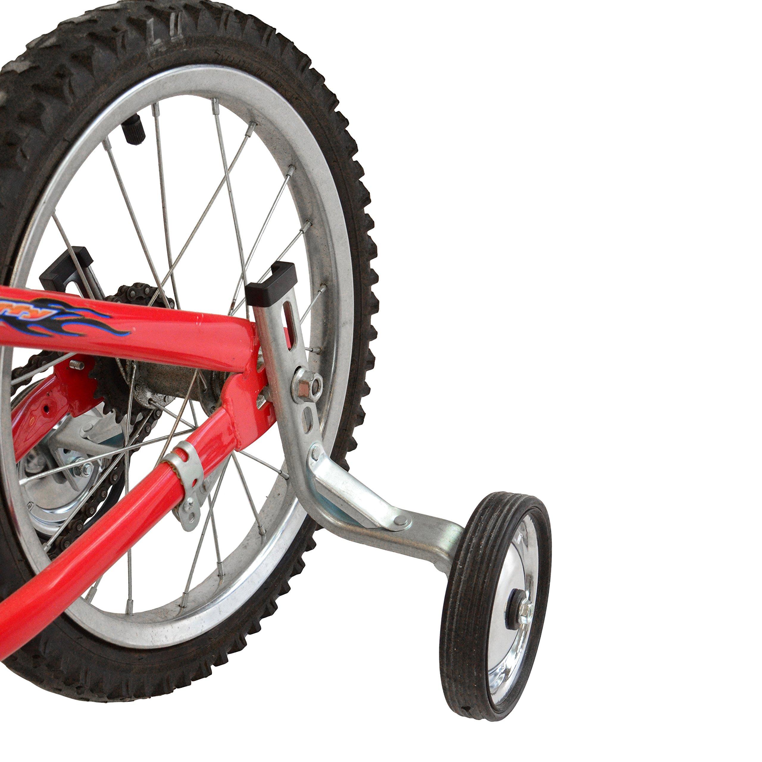 Lumintrail Children's Bicycle Training Wheels 12-18 Inch Kids Bike Stabilizer by Lumintrail (Image #4)