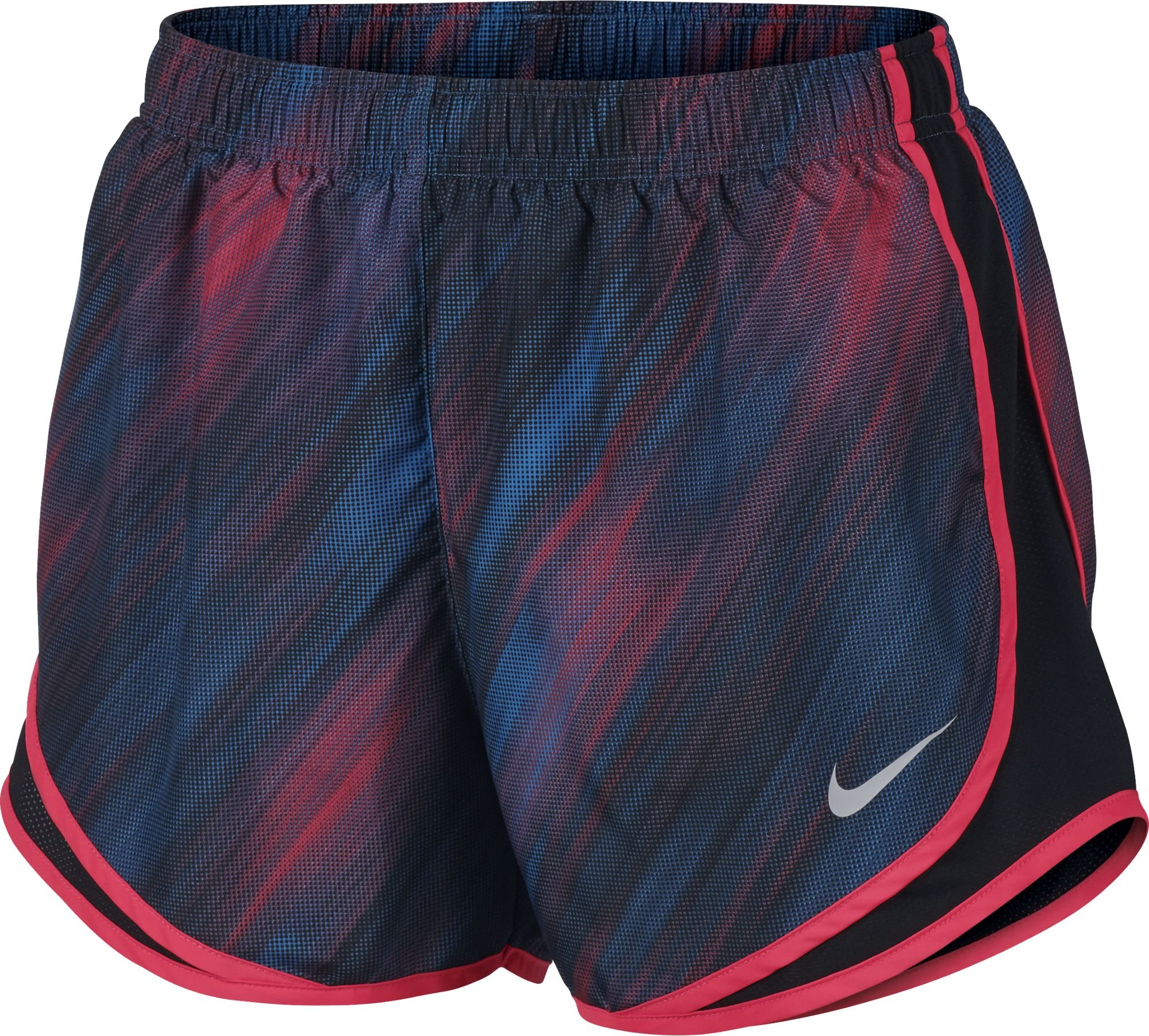 fantastic savings great prices skate shoes Nike Women's Dry Tempo Running Shorts Racer Pink/Black/LT Photo Blue/Wolf  Grey Size Medium