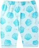 Pajamas for Girls Cotton Light Blue Shell Pearl