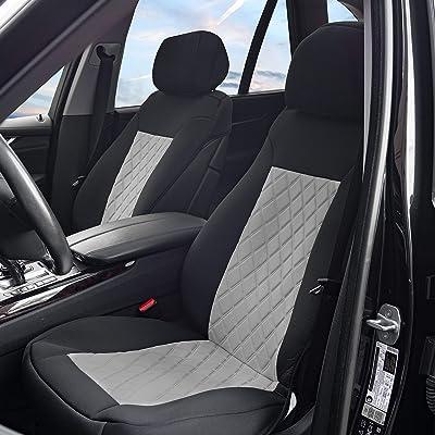 FH Group FB088GRAYBLACK102 Car Seat Cushion: Automotive